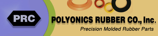 Polyonics Rubber Co. Precision Molded Rubber Parts